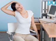 简单易行的办公室减肥操 让你全身瘦
