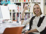 办公室小动作 不离桌也能瘦——瘦身篇一