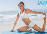 春节后15分钟健身操调整体型 让你时刻保持超模身材