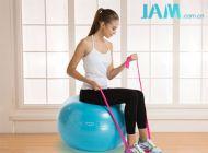 10个动作:教你如何用弹力带在家锻炼全身!