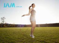 跳绳减肥 这样能减少关节压力