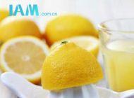 适量的柠檬帮你减肥
